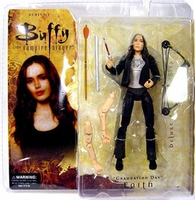Buffy the Vampire Slayer Series 1 Deluxe Action Figure Graduation Day Faith
