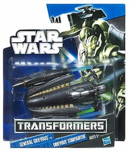 Star Wars 2012 Class I Transformers Crossovers General Grievous to Grievous' Starfighter