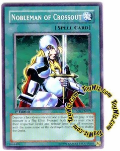 YuGiOh Spellcaster's Judgment Single Card SD6-EN019 Nobleman of Crossout