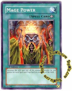 YuGiOh Spellcaster's Judgment Single Card SD6-EN022 Mage Power