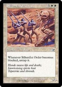 Magic the Gathering Nemesis Single Card Uncommon #20 Silkenfist Order