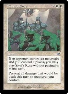 Magic the Gathering Nemesis Single Card Uncommon #21 Sivvi's Ruse