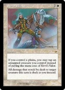 Magic the Gathering Nemesis Single Card Rare #22 Sivvi's Valor