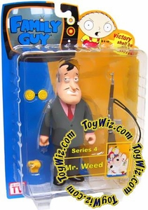 Family Guy Mezco Series 4 Action Figure Mr. Weed [Pink Shirt]