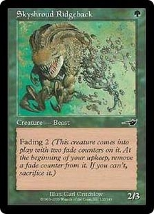 Magic the Gathering Nemesis Single Card Common #120 Skyshroud Ridgeback