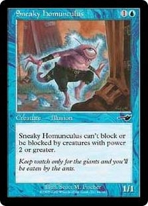 Magic the Gathering Nemesis Single Card Common #44 Sneaky Homunculus