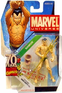 Marvel Universe 3 3/4 Inch SDCC Exclusive 70 Years Invaders Action Figure #SD2 Namor