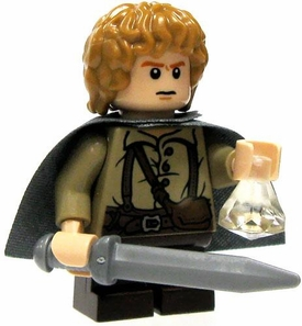 LEGO Lord of the Rings LOOSE Mini Figure Sam [Sword, Phial & Cloak]