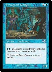 Magic the Gathering Nemesis Single Card Uncommon #45 Stronghold Biologist