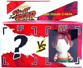 KidRobot Street Fighter Collectible Vinyl 3 Inch Mini Figure 2-Pack Vega [Includes 1 Mystery Figure]