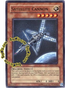 YuGiOh GX Champion Game One Single Card Ultra Rare CP01-EN001 Satellite Cannon