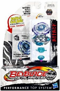 Beyblades Metal Masters Attack Battle Top #BB98 Ultimate Meteo L-Drago ABSORB