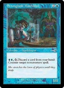Magic the Gathering Nemesis Single Card Uncommon #46 Stronghold Machinist