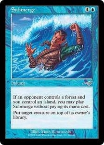 Magic the Gathering Nemesis Single Card Uncommon #48 Submerge