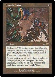 Magic the Gathering Nemesis Single Card Rare #139 Tangle Wire