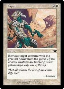 Magic the Gathering Nemesis Single Card Common #24 Topple