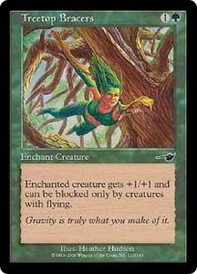Magic the Gathering Nemesis Single Card Common #123 Treetop Bracers
