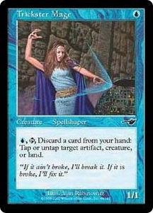 Magic the Gathering Nemesis Single Card Common #49 Trickster Mage