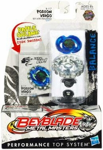 Beyblades Metal Masters Balance Battle Top #BB117 Poison Virgo