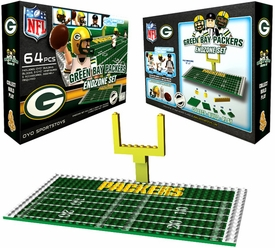 OYO Football NFL Generation 1 Team Field Endzone Set Green Bay Packers