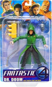 Fantastic Four Movie Action Figure Dr. Doom with Traffic Light & Mask