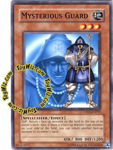 YuGiOh GX Champion Game One Single Card Common CP01-EN013 Mysterious Guard
