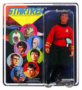 Diamond Select Star Trek Original Series 4 Cloth Retro 8 Inch Action Figure Scotty
