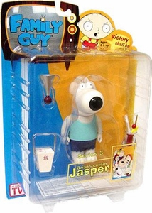 Mezco Family Guy Series 3 Action Figure Jasper [Blue Shirt]