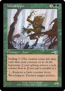 Magic the Gathering Nemesis Single Card Uncommon #125 Woodripper