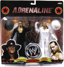 WWE Wrestling Adrenaline Series 39 Action Figure 2-Pack Undertaker & Shawn Michaels [HBK]