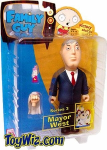 Mezco Family Guy Series 3 Action Figure Mayor West