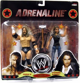 WWE Wrestling Adrenaline Series 39 Action Figure 2-Pack HHH & Stephanie McMahon