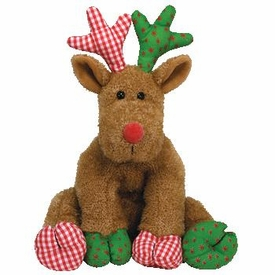 Ty Classic Christmas Plush Chestnuts the Reindeer