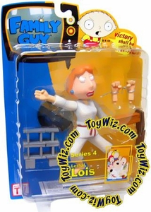 Family Guy Mezco Series 4 Action Figure Lethal Lois [Red Belt]