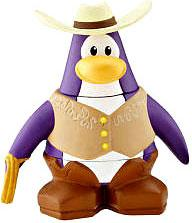 Disney Club Penguin 2 Inch Mini Figure Cowboy
