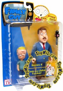 Family Guy Mezco Series 4 Action Figure Tom & Jake Tucker
