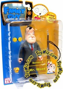 Family Guy Mezco Series 4 Action Figure Mr. Weed [Blue Shirt]