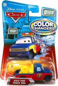 Disney / Pixar CARS Movie 1:55 Color Changers Race Tow Truck Tom