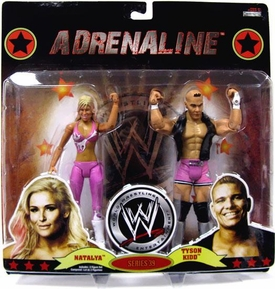 WWE Wrestling Adrenaline Series 39 Action Figure 2-Pack Natalya & Tyson Kidd