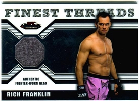 UFC Topps 2011 FINEST Finest Threads Relic Card Rich Franklin
