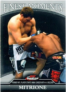 UFC Topps 2011 FINEST Finest Moments Matt Mitrione