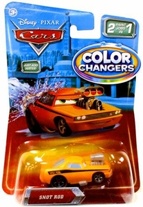 Disney / Pixar CARS Movie 1:55 Color Changers Snot Rod