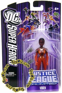 DC Super Heroes Justice League Unlimited Action Figure Vixen [Purple Card]