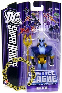 DC Super Heroes Justice League Unlimited Action Figure Blue Devil [Purple Card]