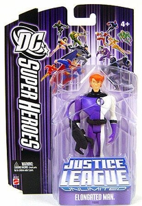 DC Super Heroes Justice League Unlimited Action Figure Elongated Man [Purple Package]