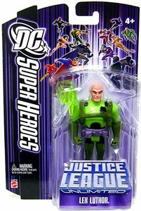 DC Super Heroes Justice League Unlimited Action Figure Lex Luthor [Purple Card]