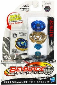 Beyblades Metal Masters Attack Battle Top #BB124 Cyber Aquario