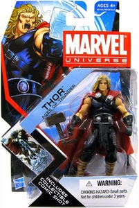 Marvel Universe 3 3/4 Inch Series 17 Action Figure #04 Thor [Ages of Thunder]