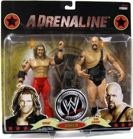 WWE Wrestling Adrenaline Series 38 Action Figure 2-Pack Edge & Big Show