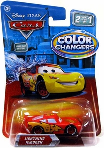 Disney / Pixar CARS Movie 1:55 Color Changers Lightning McQueen